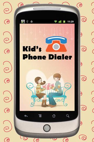 Kids Phone Dialer - Lite