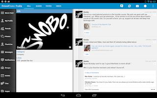 Screenshot of Friendcaster Pro