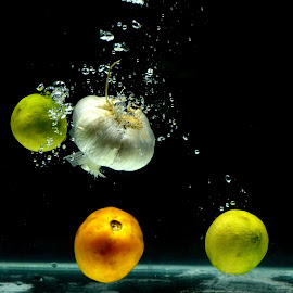 vegetables and bubbles by Aditya Kristianto - Novices Only Objects & Still Life