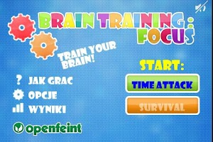 Screenshot of Brain Training : Focus