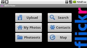 Screenshot of BettrFlickr