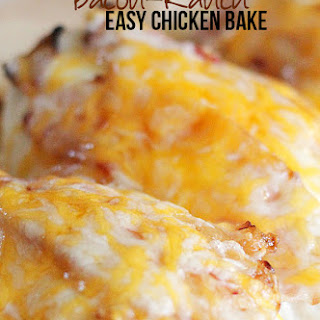 Bacon Ranch Chicken Bake
