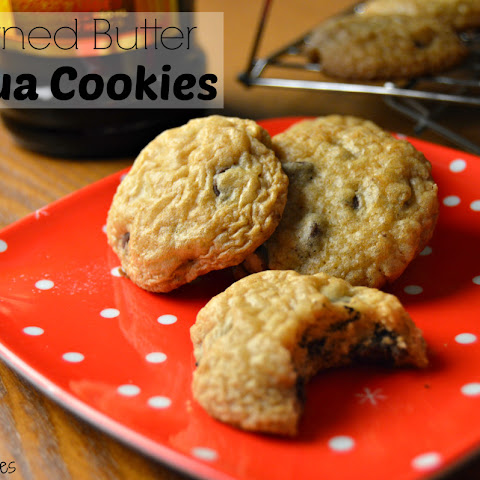 Browned Butter Kahlua Cookies