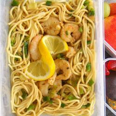 Win's Shrimp and Spaghetti