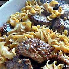 Frikadeller Meat Patties with Sauce