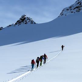 Ski touring by Igor Gruber - Sports & Fitness Snow Sports