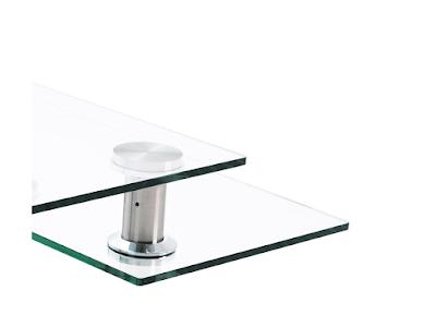 Acheter table basse carr e moving verre kingersheim chez - Table basse crozatier ...