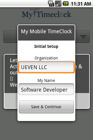 My Mobile TimeClock