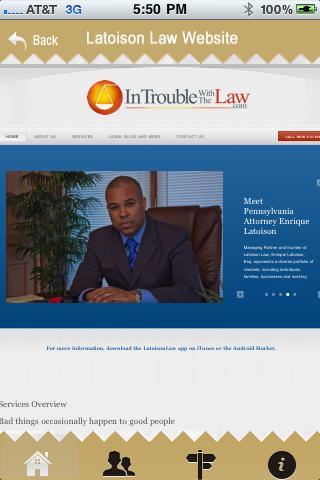 Latoison Law App
