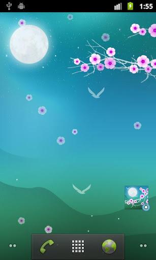 花夜專業版動態桌布 Blooming Night