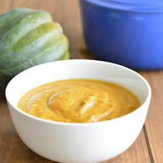Acorn Squash Soup Vegetable Broth Recipes