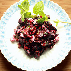 Middle Eastern Roasted Beets