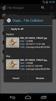 Screenshot of File Wrangler