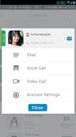 Screenshot of DROTR Calls&Chat translation