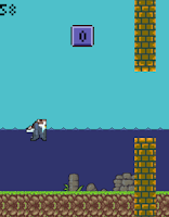 Screenshot of Flappy Budgie