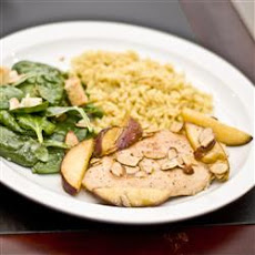 Moroccan Peach Roasted Chicken