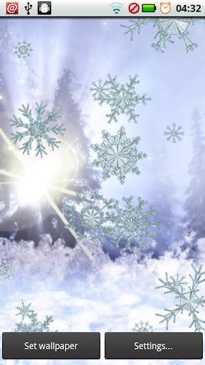 【免費個人化App】Snowflake Sparkle Ice-APP點子