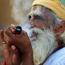 by Subhankar Ghosh - People Portraits of Men