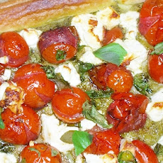 Balsamic Tomato and Feta Tart