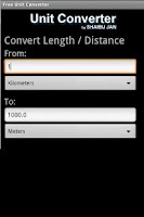 Screenshot of Free Unit Converter