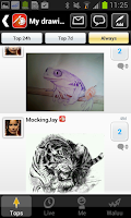 Screenshot of My Drawings