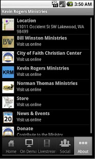 Kevin Rogers Ministries - screenshot