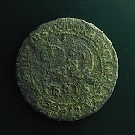 20 Cents, Commissioners of Currency Malaya, 1948, obverse.