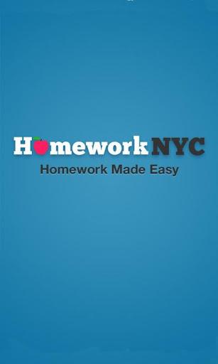 HomeworkNYC