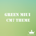 Green Black MIUI CM7 Theme icon