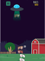 Screenshot of Cow Encounters- Aliens in Farm