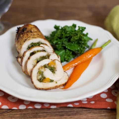 Artichoke Chicken Roulades With Mushroom Kamut Recipes — Dishmaps