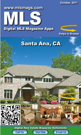Santa Ana Real Estate MLS Mag