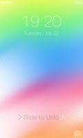 Screenshot of OS 8 Lock Screen