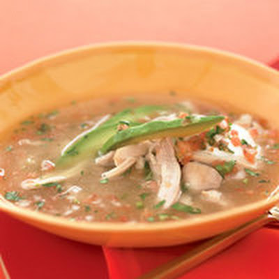 Chicken Salsa Soup