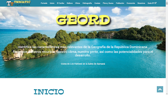 TEMATIC: GEOrd - Geografía RD - screenshot