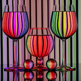 Magic with glass #2 by Rakesh Syal - Artistic Objects Glass