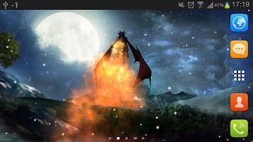 Screenshot of Dragon Live Wallpaper