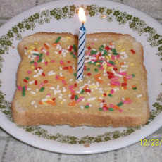 Kids Birthday Toast