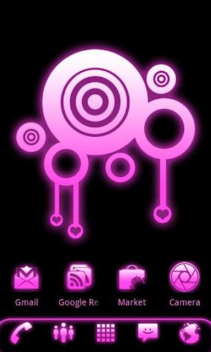ADWテーマピンクグロー