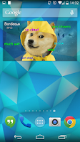 Screenshot of Doge Weather Widget