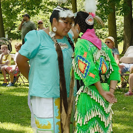 Dancers At Native American Event by Stephen Beatty - News & Events Entertainment