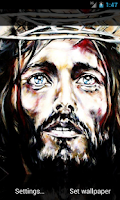 Screenshot of Jesus Christ 3D Transitions