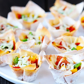 Easy Pizza Cups