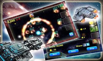 Screenshot of Galaxy Invader