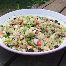 Quinoa and  Vegetable Tabouli Salad