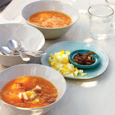 Yellow- and Orange-Tomato Gazpacho