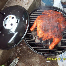 A Whole Chicken on the Grill