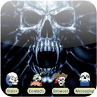 Bloody Skull [SQTheme] for ADW icon