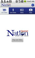 Screenshot of NationTV Live