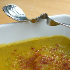 Carrot, Spinach & Lentil Soup